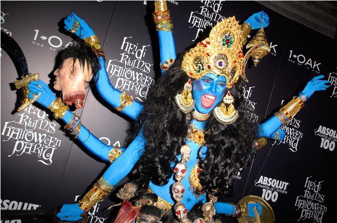 Heidi Klum Halloween Shiva.Shiva Daily Absurdities